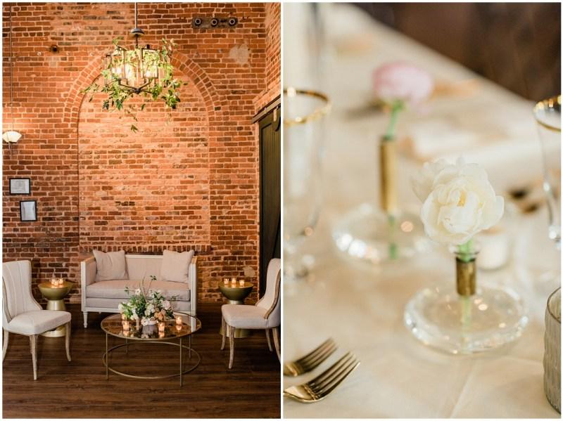 Romantic Blush L Wedding Reception Details