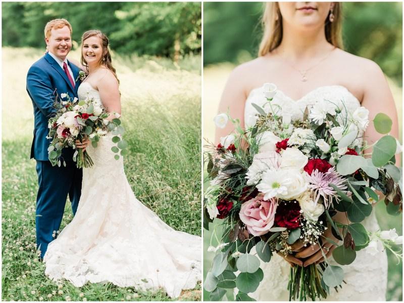 Sleepy Hollow Clemson Wedding Bride and Groom Photos