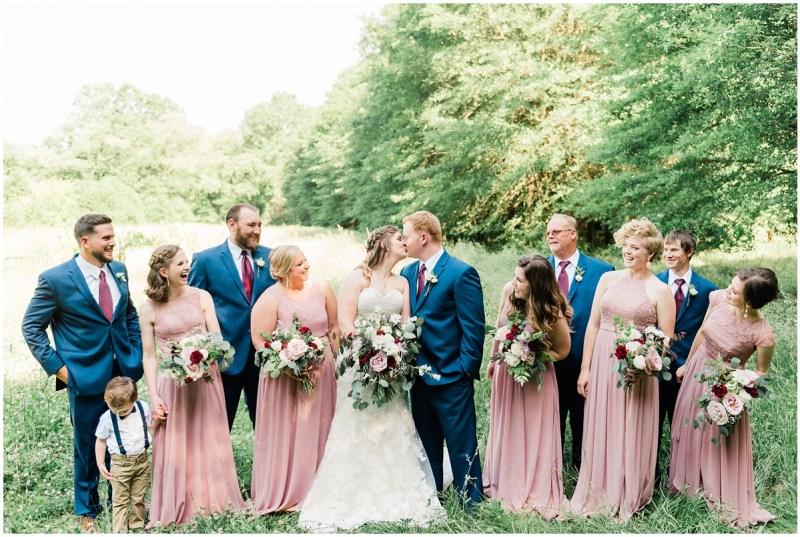 Sleepy Hollow Clemson Wedding Bridal Party photos