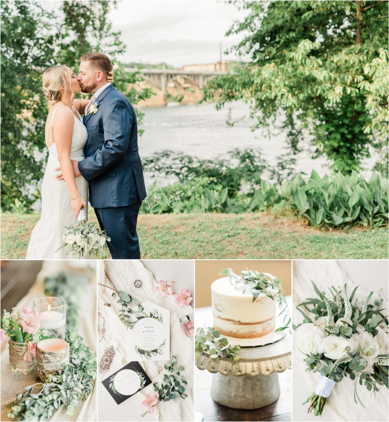 Spring Stone River Wedding in Columbia, SC