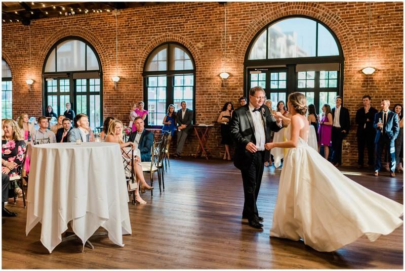 Downtown Greenville L Wedding parent dances