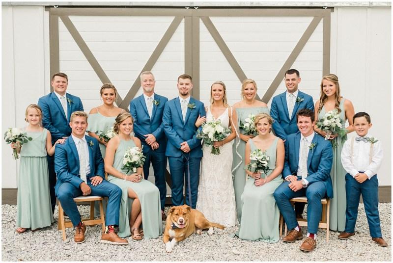 A South Wind Ranch Wedding Bridal Party