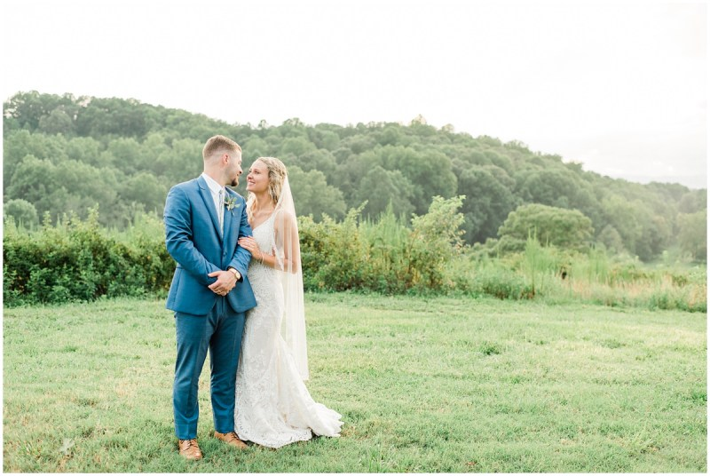 A Summer South Wind Ranch Wedding | Bride & Groom Photos