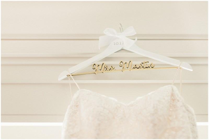 Mrs. Hanger for bride