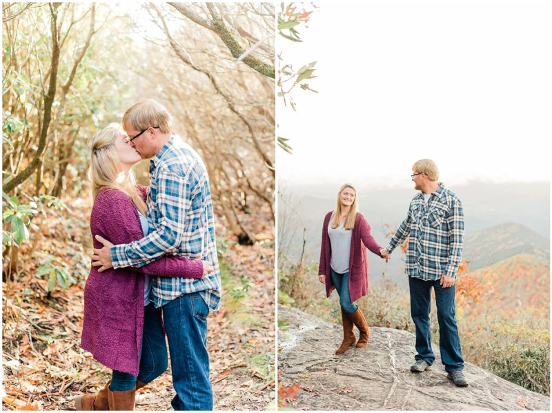 Mountain Engagement Session in North Carolina