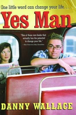 book cover for yes man by danny wallace