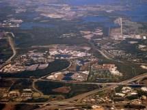 Walt Disney World Aerial View