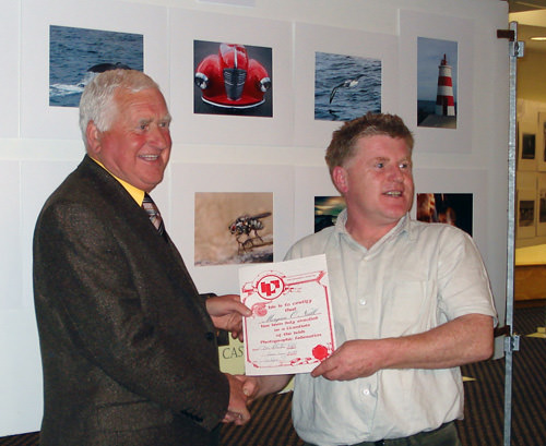 Morgan Receives His Award (LIPF)