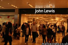 John Lewis at Westfield Stratford City shopping centre, photo