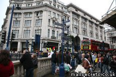 Oxford Street shops in London's West End