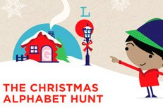 Westfield Stratford's Christmas Alphabet Hunt game