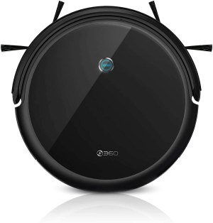 360 C50 Robot Vacuum and Mop, 2600 Pa, Scheduled Cleaning, Edge, Spot, Deep Cleaning, Works with Alexa and Google Assistant