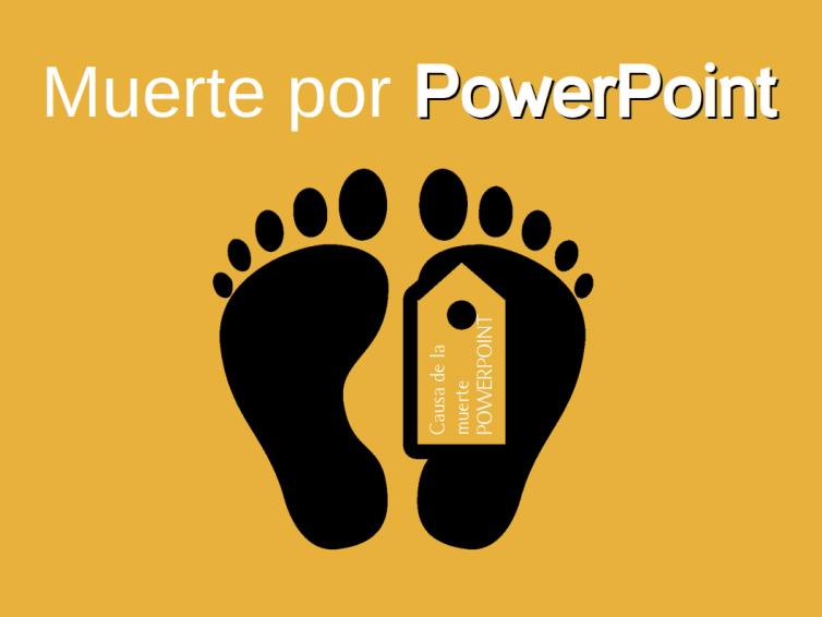 Símbolo de la muerte por Powerpoint
