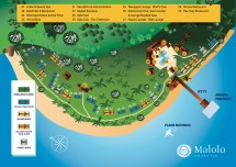 Malolo Island Fiji Map