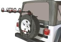 Jeep Wrangler Spare Tire Bike Rack - Bicycling and the ...