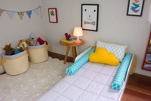 dormitorio montessori, maloo Studio, decoración infantil