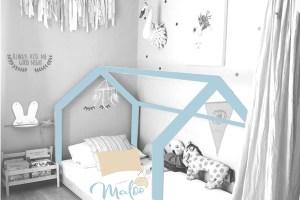 Ambiente preparado, decoración infantil, cama niños