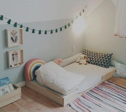 ambiente preparado, cama montessori, maloo studio, decokids