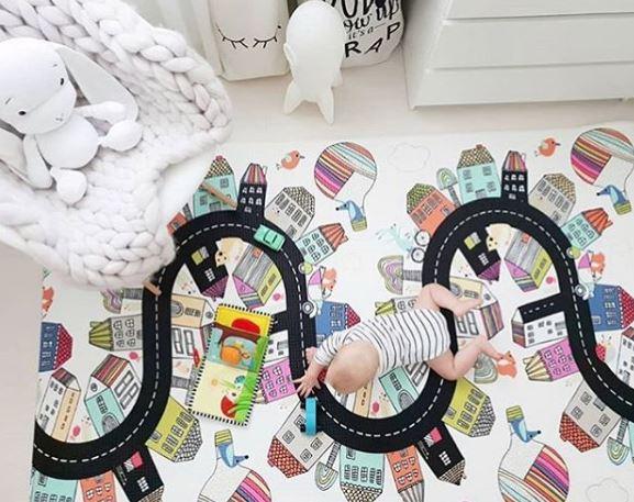 desarrollo motor del bebe, montessori, maloo studio, decoración infantil