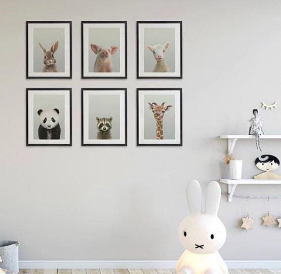 decoración de bebe, desarrollo del cerebro del bebe, montessori, malo studio, decoración bebe