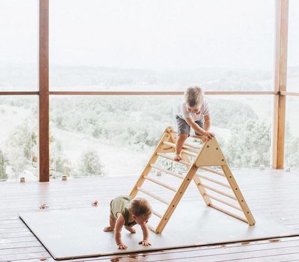 montessori, movimiento libre, decoracion infantil, maternidad consciente, maloo studio