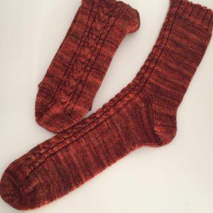 """Chaussettes Fumseck - Collection tricot """"Une année à Poudlard"""""""