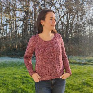 Allium pull tricot femme