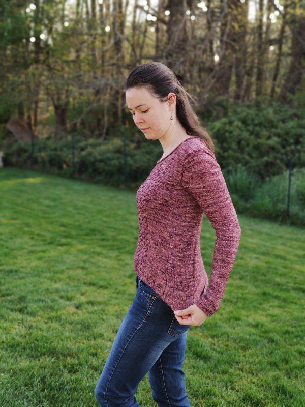 Allium pull au tricot