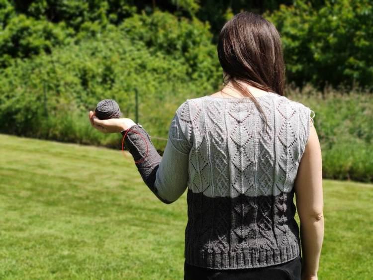Santoline pull au tricot - Maloraé Designs