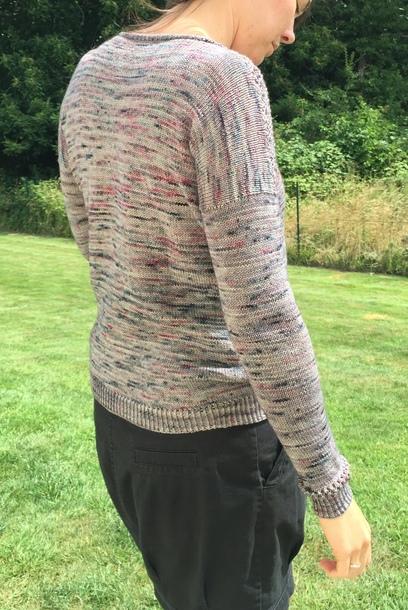 Athyrium, pull au tricot pour femme
