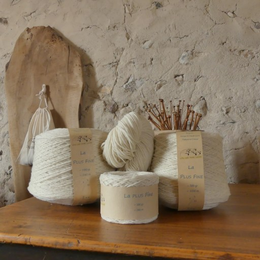 Conditionnement de La plus fine - Atelier pure laine