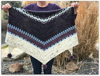 Kodikas - 10 patrons de châle au tricot