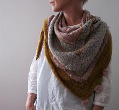 A girl's best friends - Châle au tricot pour l'automne