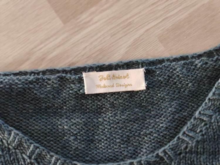 Étiquettes tissées - Joli tricot - Maloraé Designs