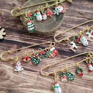 Lot anneaux marqueurs - Noël - Maloraé Designs
