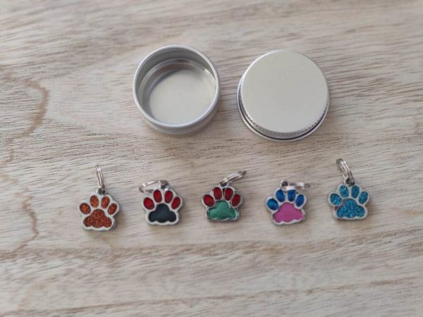 Lots anneaux marqueurs petites pattes - Maloraé Designs