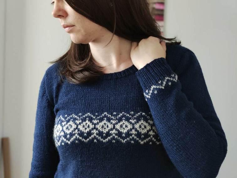 Nemesia - Pull tricot - Maloraé Designs