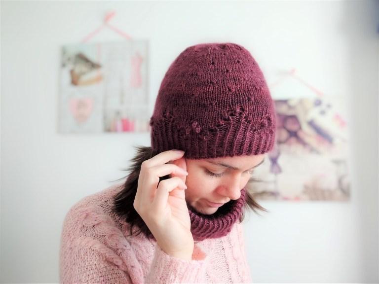 Malva hat & cowl - Duo moelleux au tricot - Maloraé Designs