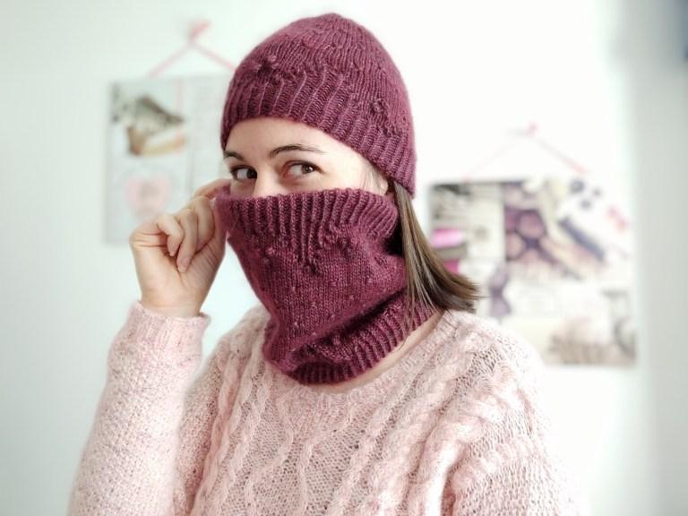 Malva hat & cowl - Modèles au tricot - Maloraé Designs