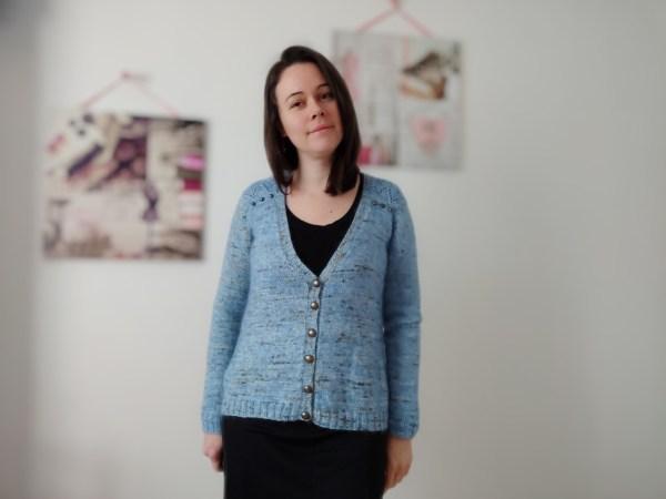 Achillée Cardigan - Gilet au tricot - dentelle - Maloraé Designs