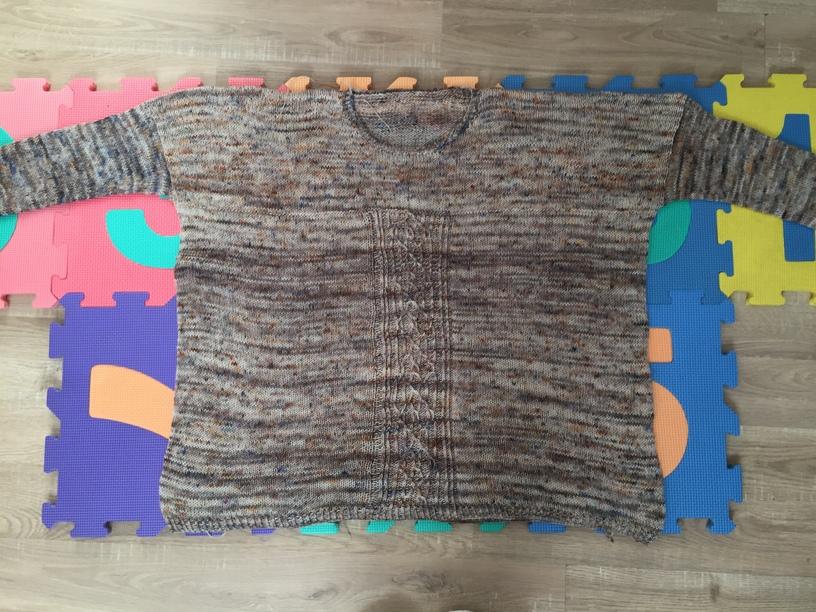 Comment et pourquoi bloquer son projet tricot? - Maloraé Designs