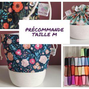 Précommande Taille M - Panier projets tricot - Maloraé Designs
