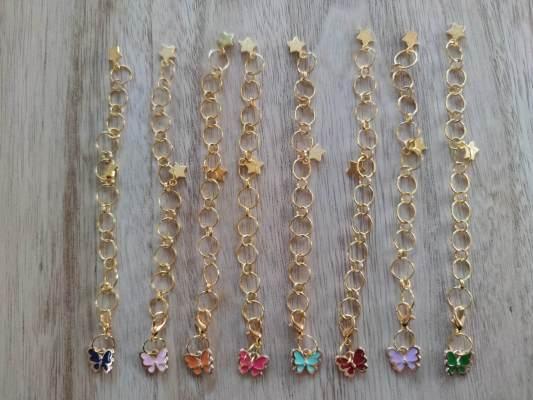 Compte rangs - Papillons - tricot - Maloraé Designs