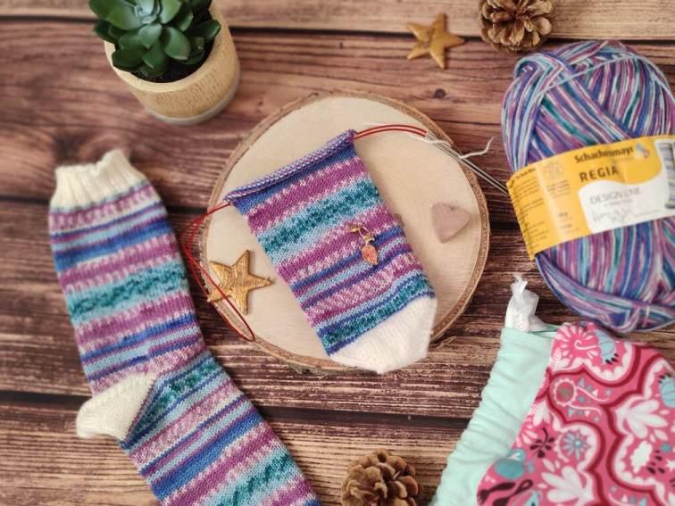 Chaussettes au tricot - Tuto gratuit - Maloraé Designs