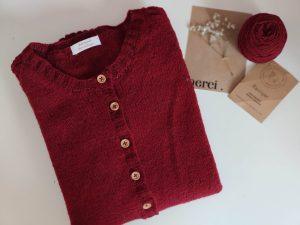 Watsonia Cardigan- Gilet raglan au tricot en dentelle - Maloraé Designs