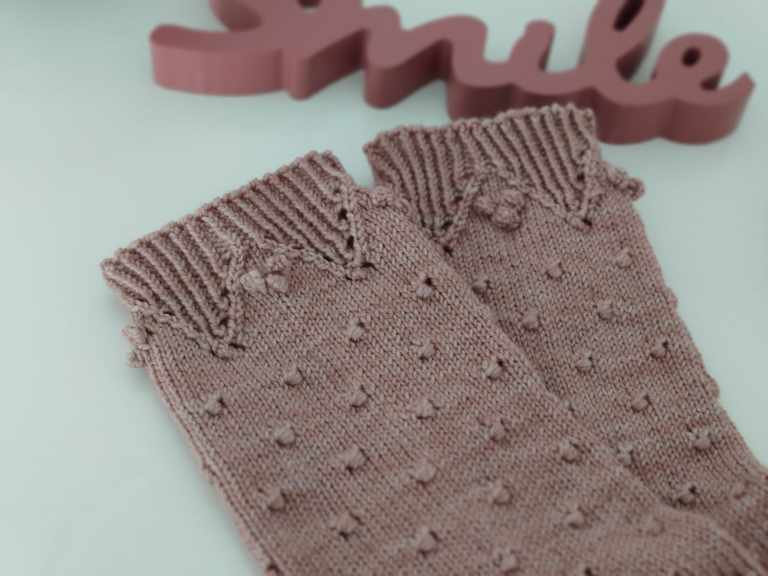 Malva socks - Tricot - Maloraé Designs
