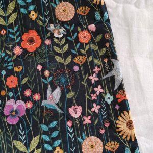 Précommande panier projets tricot - Choix tissu -Printemps - Maloraé designs
