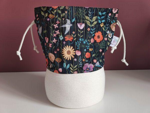 Panier projet tricot - Taille M - Printemps - Maloraé Designs