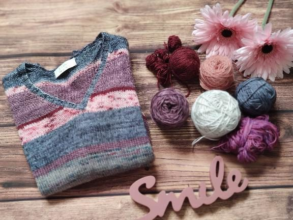 Trop de projets tricot - Little Polygonia - Maloraé Designs