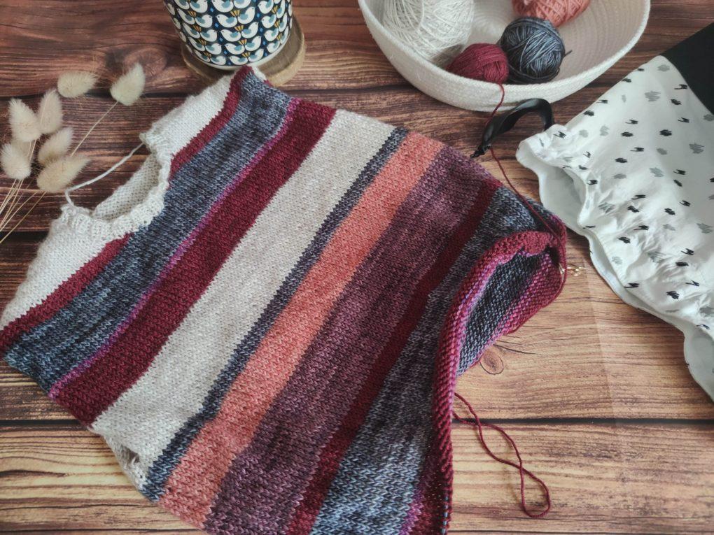 Little Polygonia - Pull tricot enfant - Maloraé designs